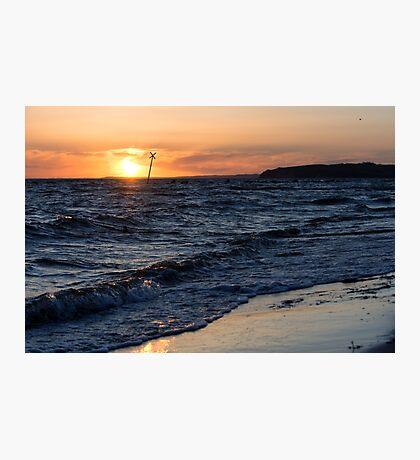 Baltic Sunset Photographic Print