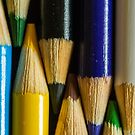 Coloured Pencils by Garvin Hunter Photography