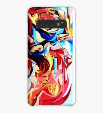 Expressive Abstract People Composition painting Case/Skin for Samsung Galaxy