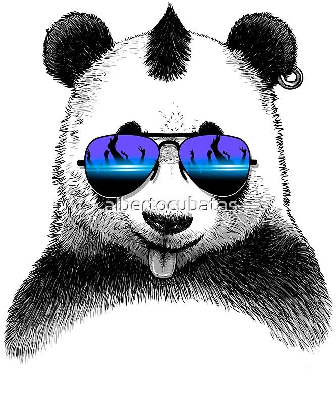 Крутые панды рисунки, каникулы гифка