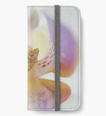 Center of the Orchid iPhone Wallet/Case/Skin