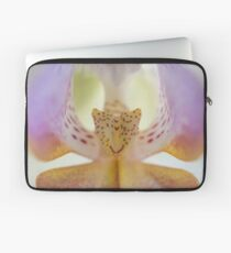 Center of the Orchid Laptop Sleeve
