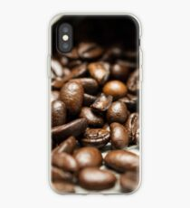 Spilled Coffee Beans iPhone Case