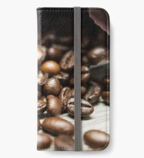 Spilled Coffee Beans iPhone Wallet/Case/Skin