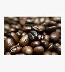 Coffee Bean Close-up Photographic Print