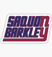Saquon Barkley on the Giants Sticker