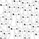 Cat Invasion by Ekaterina Zimodro