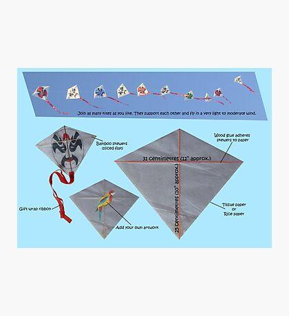 Kite design Photographic Print