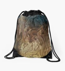 The Tired Old Sweet Elephant... I love Elephants Drawstring Bag