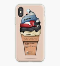 Shoes Off White Ice Cream iPhone Case
