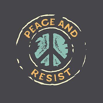 Peace and Resist - 2018 Midterm Elections by directdesign