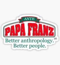 Papa Franz Sticker