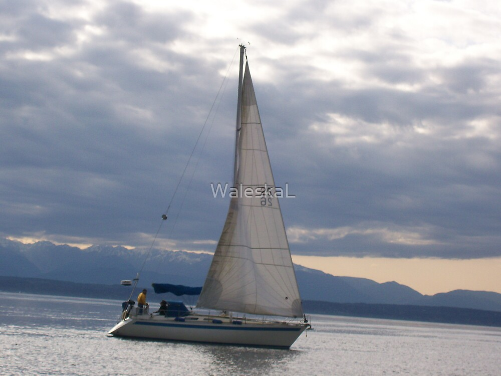 Pacific Boat by WaleskaL