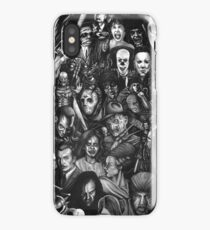 Classic Horror Movies iPhone Case