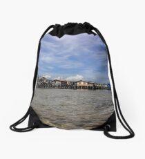 Little Village Drawstring Bag