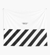 OFF-WHITE BED Wall Tapestry