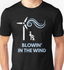 Camiseta unisex Bob Dylan - Soplando en el viento