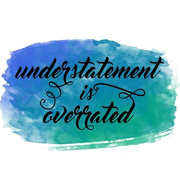 Understatement is Overrated Nikolai Grisha Quote by fennywho