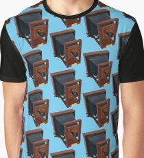 Vintage 19th Century Wooden Camera Graphic T-Shirt