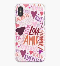 Love Languages iPhone Case