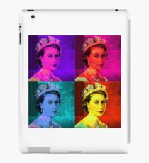 Queen Elizabeth II - Pop Art iPad Case/Skin
