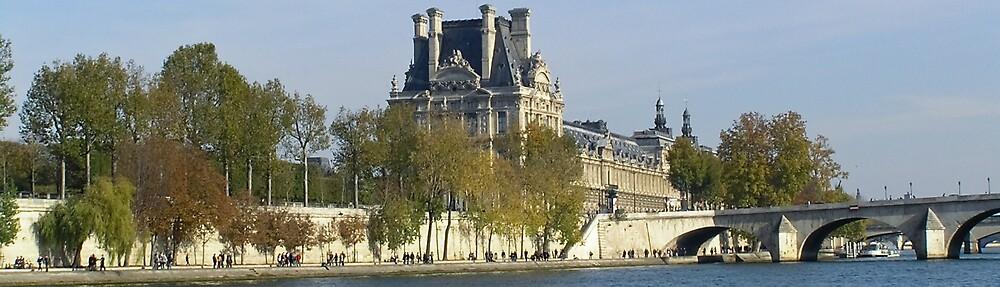 Seine Scene, Paris by Steve Rhodes