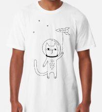 Space Cat Long T-Shirt