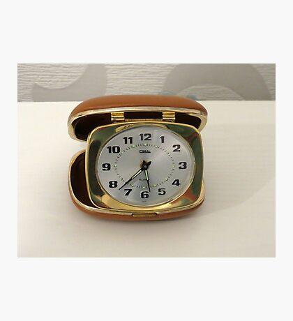 Tick oder nicht Tick? Vintage Reiseuhr Fotodruck