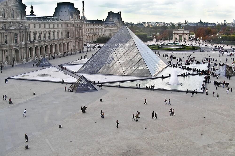 Louvre - Paris by Steve Rhodes