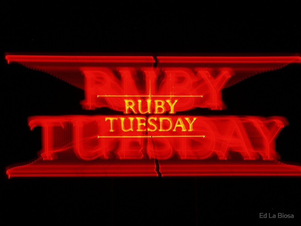 Ruby Tuesday by labiosa