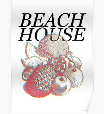 Beach House colors Poster
