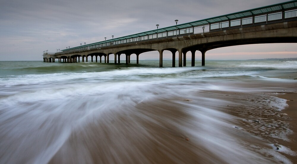 days end at boscombe pier... by igotmeacanon