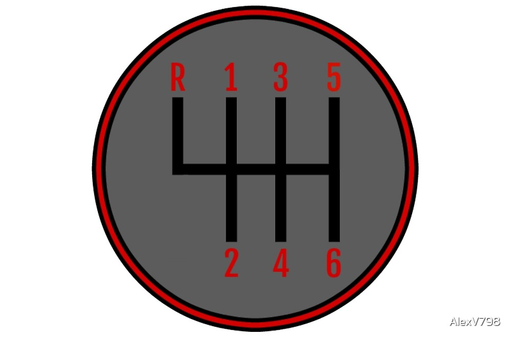 Swell Manual Transmission Stick Shift Pattern Red Gray By Alexv798 Wiring Cloud Hisonuggs Outletorg