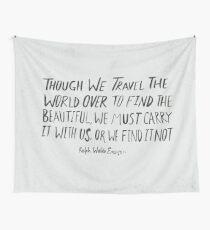 Ralph Waldo Emerson: Beautiful Wall Tapestry