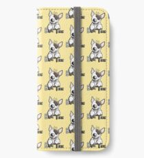 Funny Bull Terrier Comic - Dog - Dogs - Cartoon - Funny - Gift iPhone Wallet/Case/Skin