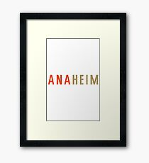 Anaheim Framed Print
