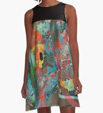 Peep Hole A-Line Dress