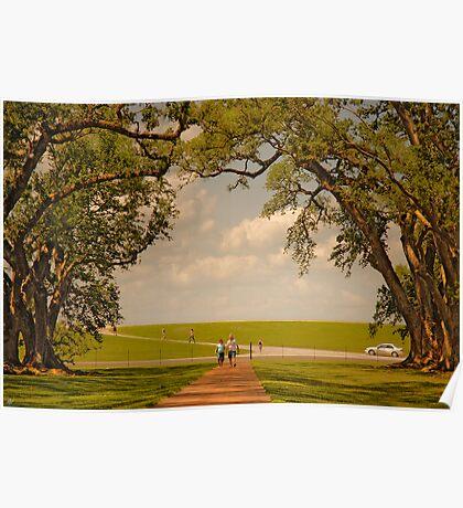 Oak Alley Plantation Poster
