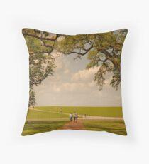 Oak Alley Plantation Throw Pillow