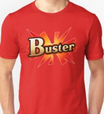 Fate go Buster card Slim Fit T-Shirt