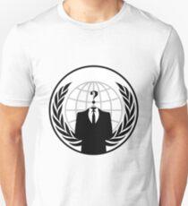 Anonymous Crest Unisex T-Shirt