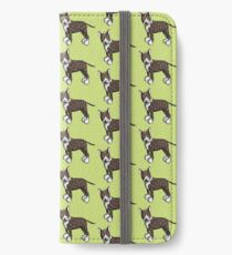 Funny Bully - Bullterrier - Bull Terrier - Dog - Dogs - Gift - Comic iPhone Wallet/Case/Skin