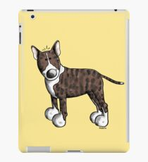 Funny Bully - Bullterrier - Bull Terrier - Dog - Dogs - Gift - Comic iPad Case/Skin
