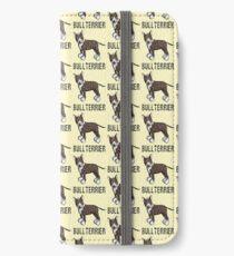 Cute Bull Terrier Comic - Bullterrier - Dog - Dogs - Gift iPhone Wallet/Case/Skin