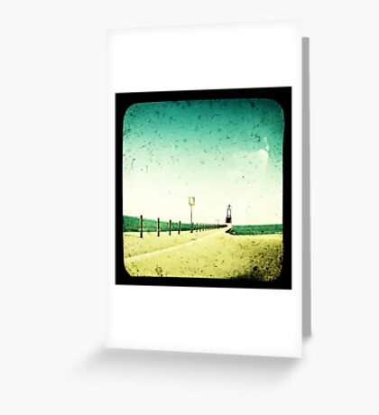 These Days Are Gone Greeting Card