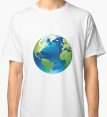 Cartography Chromatic Continents  Classic T-Shirt