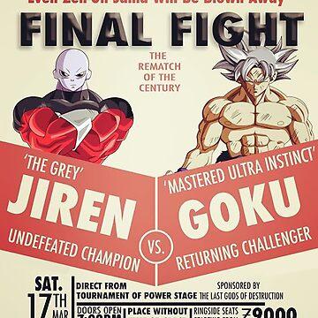 Dragon Ball Super Goku vs. Jiren by SenxCreations
