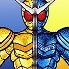 Kamen Rider Double Luna/Trigger by jellysoupstudio