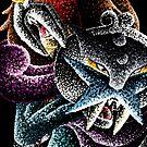 Legendary Beasts of Pokemon by jellysoupstudio