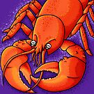 Red Lobster by jellysoupstudio